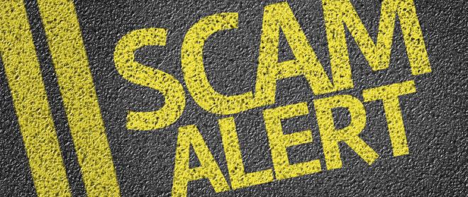 scam alert airport